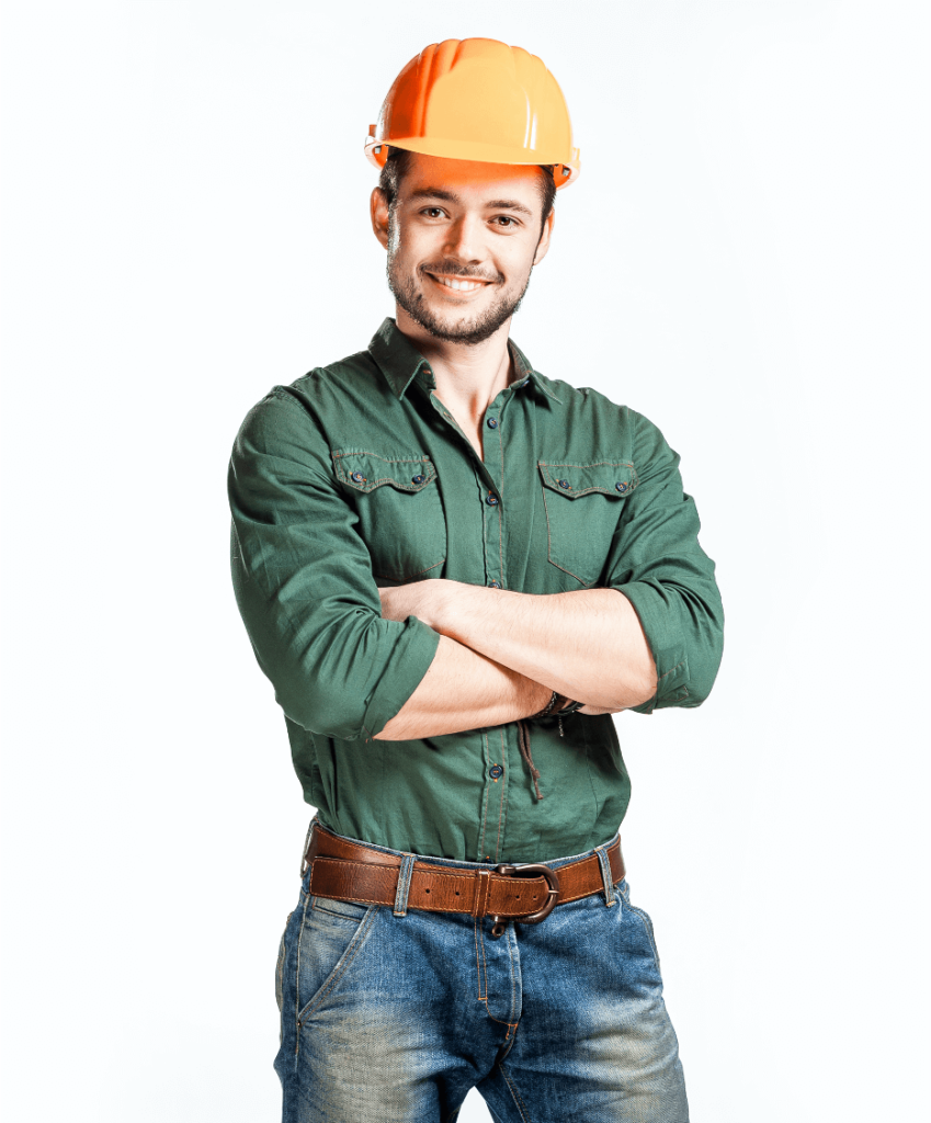 Roofing Construction Worker